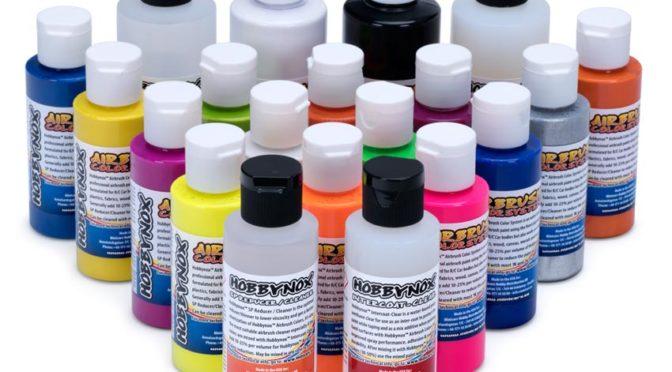 Es wird Bunt – Hobbynox Airbrush Colors