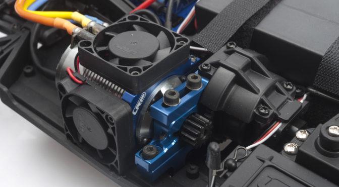 LRP Aluminium-Lüfterhalter für Elektro 1/8