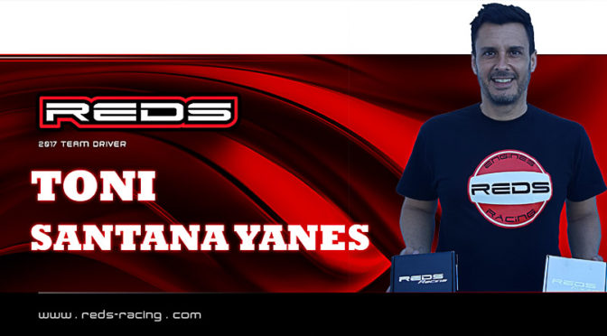 Tony Santana Yanes nun im REDS Racing Team