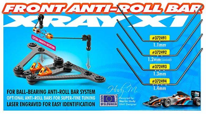 Xray X1`17 Stabilisatoren für vorne