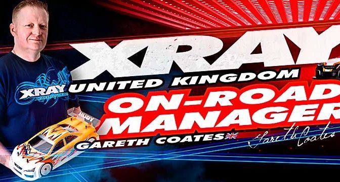 XRAY stellt neuen UK Onroad Team-Manager vor
