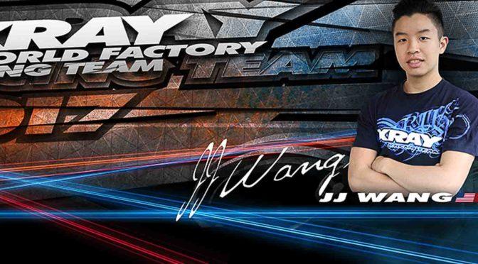 JJ Wang verlängert bei XRAY