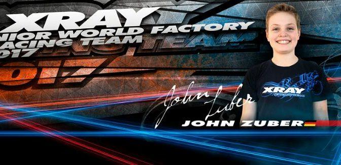 John Zuber wechselt ins XRAY Junior Team