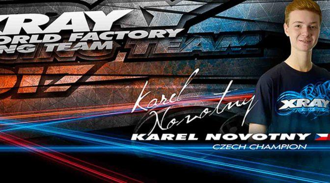 Karel Novotny verlängert mit Xray