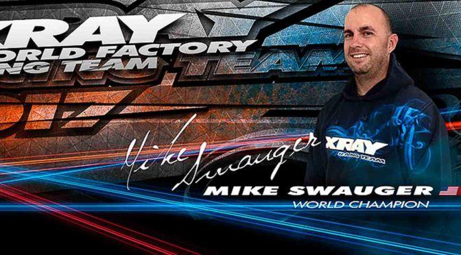 Mike Swauger verlängert mit XRAY