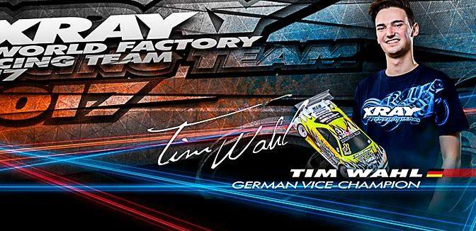 Tim Wahl weiter bei Xray
