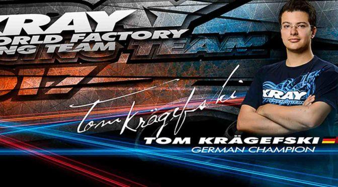 Tom Krägefski weiter bei Xray