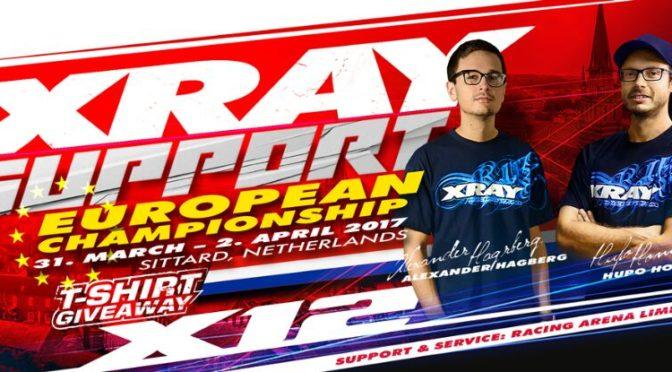 Xray-Support auf der Euro 1/12 in dee Racing Arena Limburg
