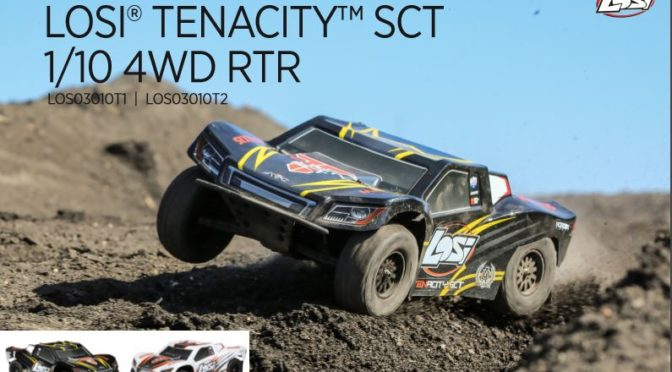 LOSI Tenacity SCT 4WD Short Course Truck AVC 1:10 RTR
