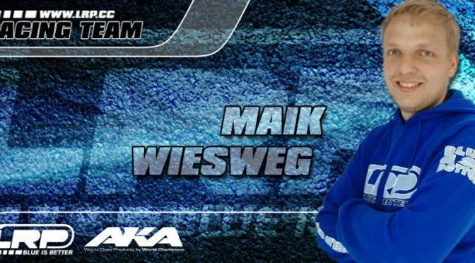 Maik Wiesweg weiterhin LRP-Teamfahrer!