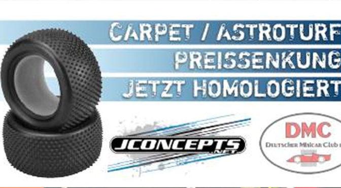 JConcepts Reifen DMC homologiert und reduziert!