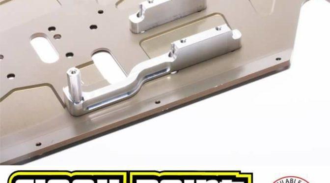 Motorhalterung für den Mugen 1/8 Nitro-Fahrzeuge
