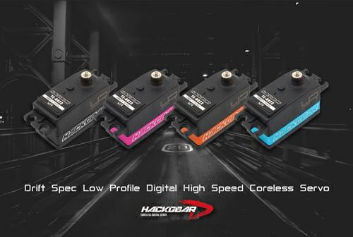 Hackgear Drift Spec Low Profile Servo