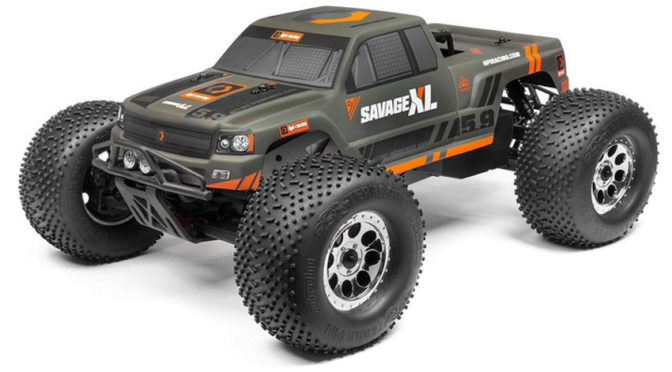 Savage XL 5.9 RTR 2.0 1/8 Monster-Truck mit Nitro-Motor