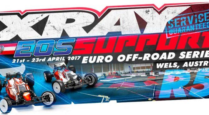 Xray Support beim EOS Round 5 in Wels / Österreich