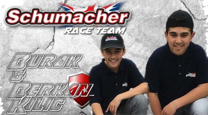 Burak und Berkan Kilic jetzt auch im Schumacher Racing Team