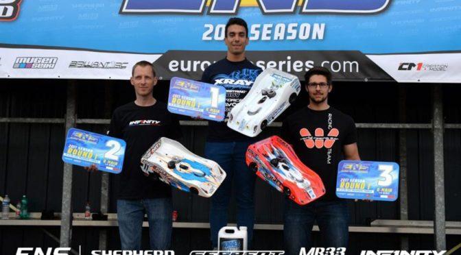Doppelsieg beim ENS Round 1 in Mulhouse / Frankreich