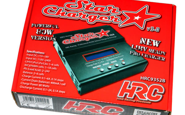 HRC Racing Star Charger V3.0 Mit LiHV Mode
