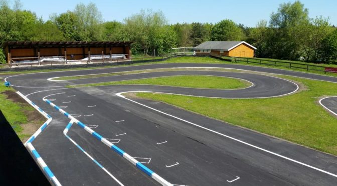 Streckeneröffnung nach Umbau beim MC Munster e.V.