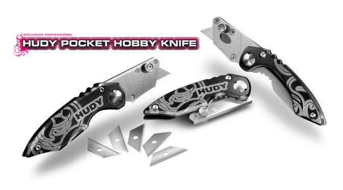 HUDY Pocket Hobby Messer & austauschbare Klingen