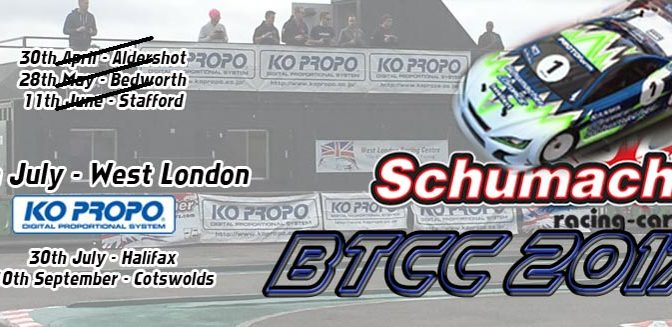 KO PROPO Support beim BTCC Rd 4 West London