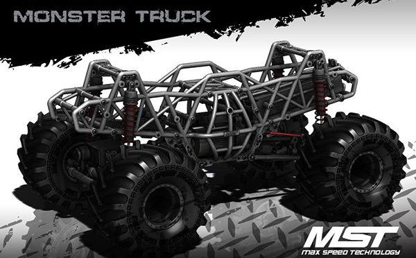 MST MONSTER TRUCK MTX-1