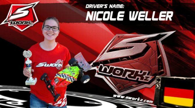 Nicole Weller im SWORKz Team Germany