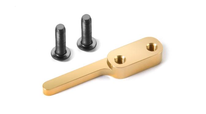 Messing – Begrenzung für den Akku beim Xray T4