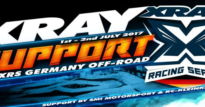 XRAY Support bei XRS Germany – Offroad