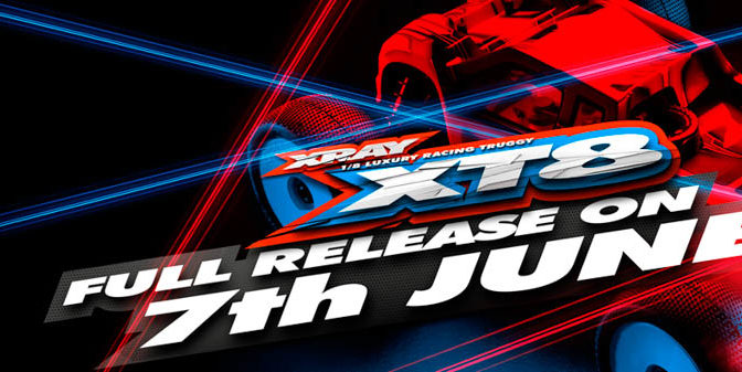Xray XT8 – Full Release am 7.Juni 2017