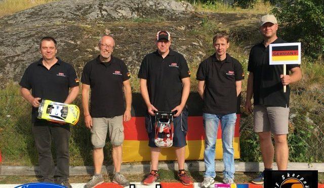EFRA European Champion +40 1/8th und 1/10th entschieden