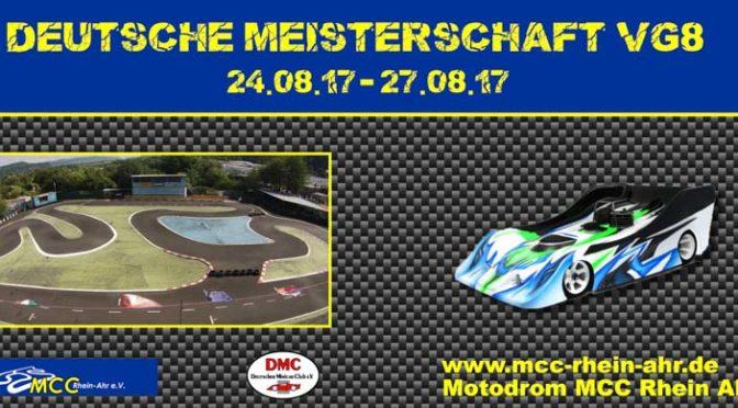 Vorfreude auf die Deutsche Meisterschaft VG8