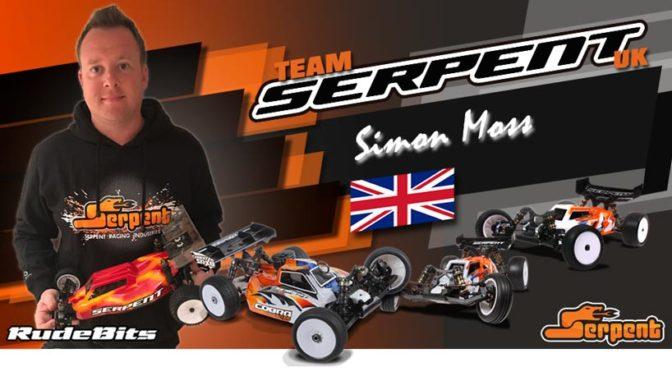 UK Topfahrer Simon Moss wechselt zu Team Serpent