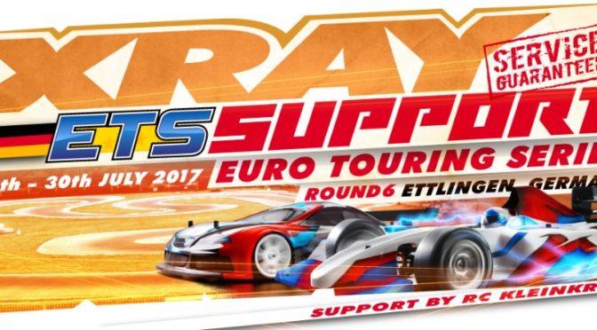 RC KleinKram: Xray Support beim ETS R6 in Ettlingen