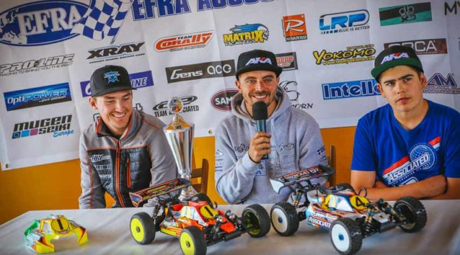 EFRA 1/8th Nitro Off Road European Championship Qualifying Report