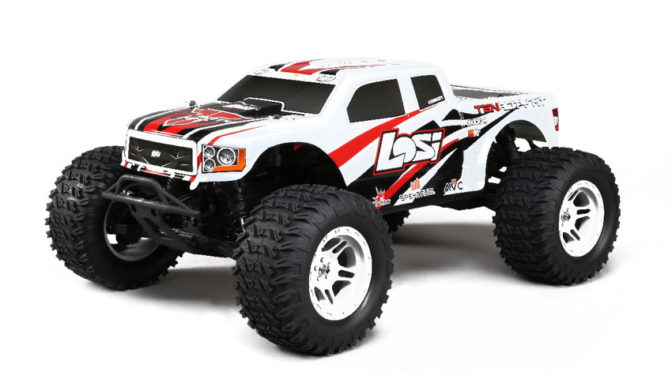 Neu – LOSI Tenacity 4WD Monster Truck 1:10 RTR (mit AVC)
