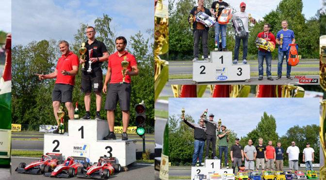 Titelentscheidung bei der Deutsche Meisterschaft VG5F1 und FR VG6Truck + 1/8GTS in Leipzig