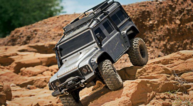 TRAXXAS TRX-4 Land Rover Scale Crawler ARTR