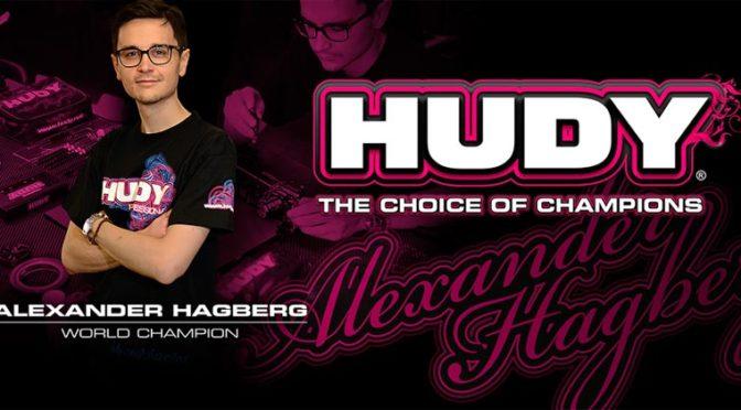 Alexander Hagberg entscheidet sich weiter für HUDY