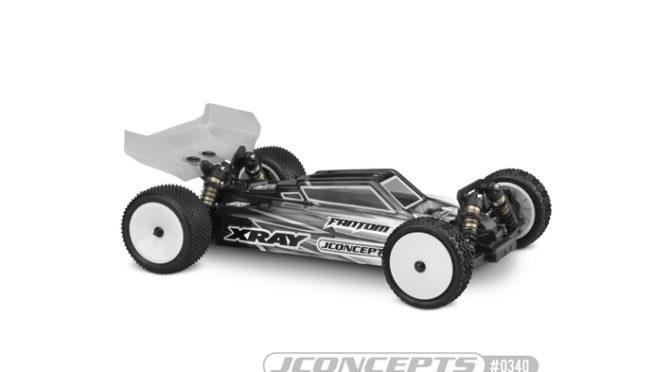 S2 – XRAY XB4 Karosserie mit Aero Spoiler – Light-weight