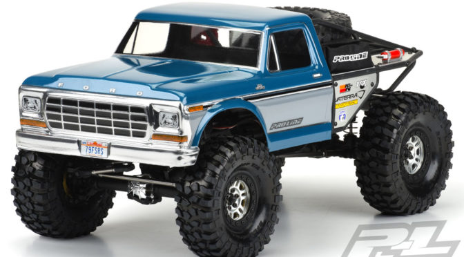 1979 Ford® F-150 Clear Body für Ascender