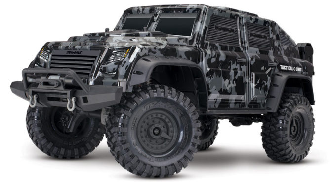 Der TRX-4 Tactical Unit