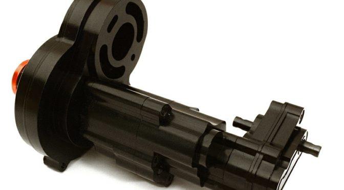 Aluminum-Getriebebox für AXIAL 1/10 SCX10 II