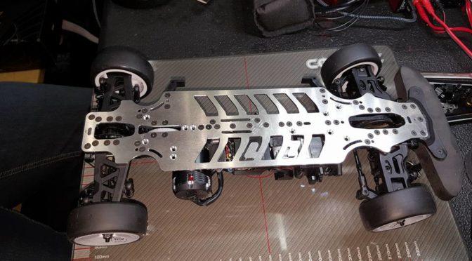 TM E4RS4 Aluminium Chassis – Test beim ETS Round 1