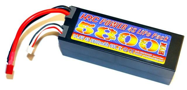 HRC Racing 4S Lipo 5800mAh – 65C/110C