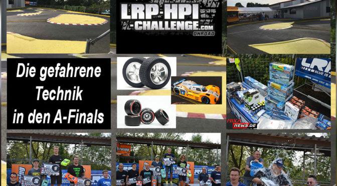 LRP-HPI-Challenge Deutschlandfinale 2017 – Blick auf die Technik