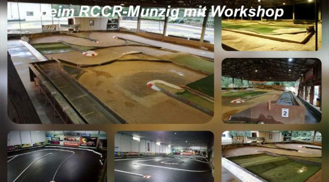 Workshop zum 6.Lauf des RC Offroad Sachsencup in Munzig