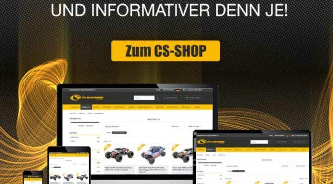 CS-Shop in neuem Look