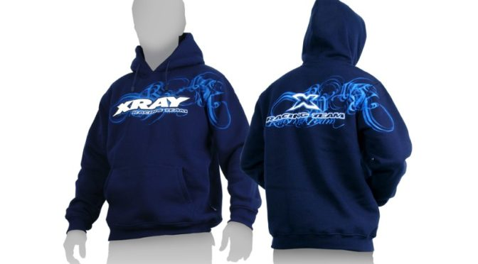 XRAY Sweater Hooded – Blue