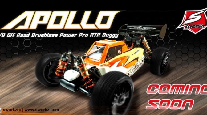 "SWORKz ""APOLLO"" 1/8 Electric Pro RTR kommt"